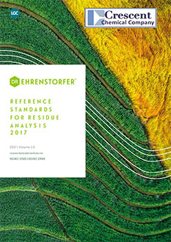 REFERENCE STANDARDS FOR RESIDUE ANALYSIS 2017